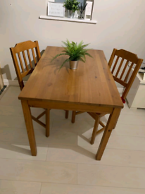 Ikea Jokkmokk Dining Table including 2 Chairs