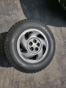 Winter Tires 195-70-14 - Hankook I Pike