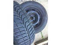 Vredestein winter tyres 185/65/15