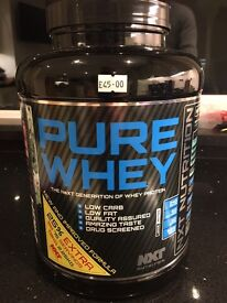 Pure Whey protein, chocolate mint