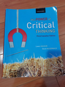 Learning to Think Things Through  A Guide to Critical Thinking     Kijiji Concise Guide to Critical Thinking