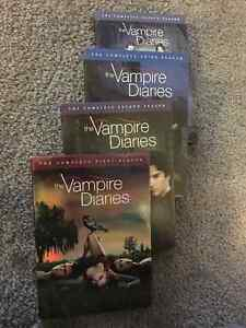 Seasons 1-4 of the Vampire Diaries on DVD