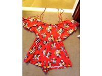 Top Shop size 10 short play suit