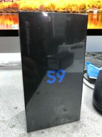 Samsung Galaxy s9 64gb Corl blue sealed pack brand new