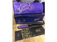 Ghd Peacock Limited Edition Hair Straigtners Brand New Boxed