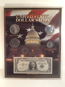 The United States Dollar Story 1995  Plaque