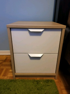 Ikea Askvoll two-drawer chests (set of two)