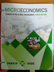 Microeconomics - Ninth edition (Canadian) WITH TEST BANKS