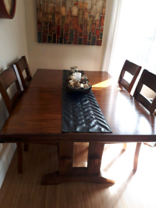 Solid heavy table set $700 obo