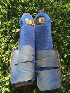 Used protective boots and bell boots