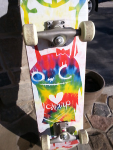 Mint condition summer skate board