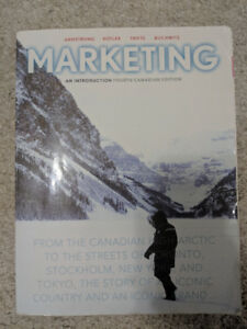 Marketing an Introduction: 4th Ed.