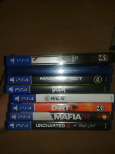 Ps4 games playstation 4 . dirt 4 . plus more online . shooters