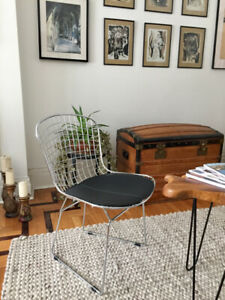 Bertoia chair (4 available)