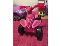 Kids toy electric car and quad..