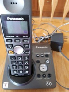 Phone with answering machine
