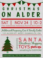 Christmas on Alder Vendor Event
