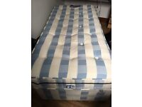 Good quality Sleepmasters single bed
