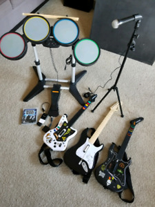 PS3 Rock Band Set