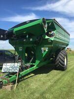 2010 j and m 1151 grain cart