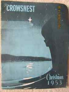 THE CROWSNEST – CHRISTMAS 1953, Vol 6 No. 1