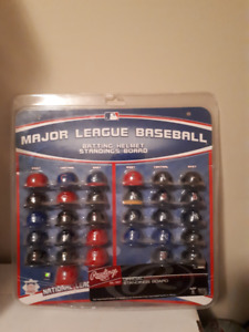 MLB Batting Helmets Standings Board