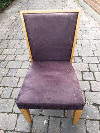 Set of 3 dining room chairs