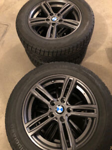 BMW 4 winter tires & mags for 328i and X4
