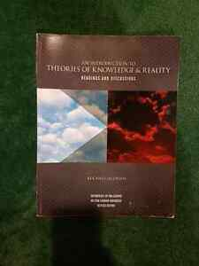 Philosophy: theories of knowledge and reality revised textbook Cambridge Kitchener Area image 1