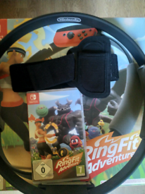 Ring Fit Adventure for Nintendo Switch - includes game, ring, leg band