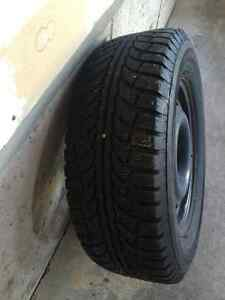 "WINTER TIRES AND RIMS 17"" (4) MINT! $ 700.00"