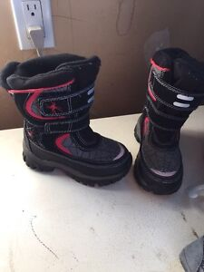 Kids boots, snowsuit and costume