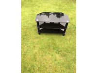 Black glass tv stand. Vgc can deliver