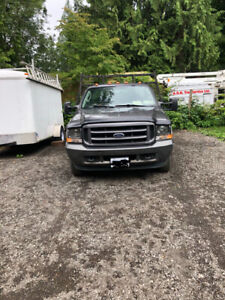Ford F350 Dually Flat Deck