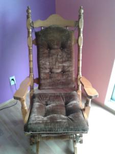 Chaise bercante