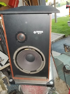 pair of Yamaha NS-A77 floor speakers