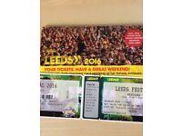 2 weekend Leeds festival tickets