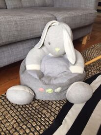 Bunny kids bean bag