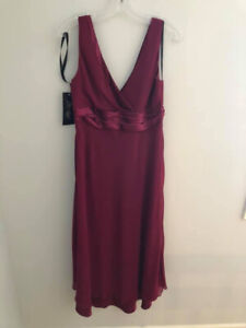 SIze 16 Red Cocktail Dress NEW