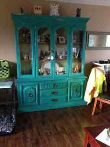 Beautiful Teal Cabinet St. John's Newfoundland image 2