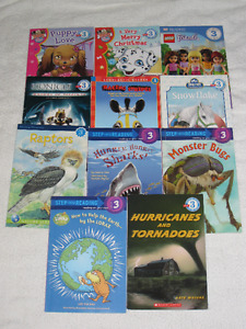 EARLY READERS BOOKS (LEVEL 3) - GREAT SELECTION - CHECK IT OUT!