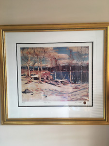 MATCHING EDITION NUMBERS - Tom Thomson Ltd Ed Prints