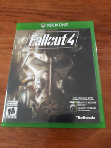 Xbox one Madden 18 and fallout 4