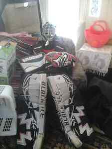 Equipement de guardien de but hockey