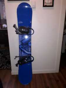 Great deal on snowboard used 4 times