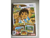 2 x Wii Game : Go Diego and Just Dance Disney Party