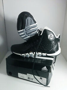 Adidas mens d rose basketball shoes, size US9.5