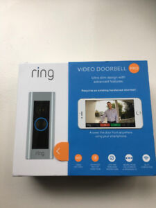 Brand New Ring Video Doorbell Pro For Sale