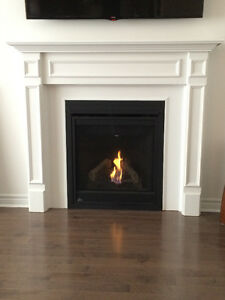 Napolian gas fireplace
