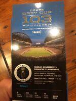 6 Grey Cup Tickets - Sec 202 R21 Seats 11-16 BELOW COST OBO